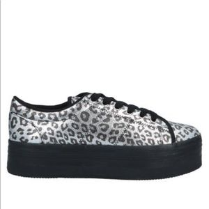 NEW • Jeffrey Campbell • Zomg Lace Up Sneaker